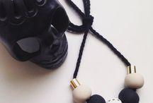 Daxley Designs Polymer Clay Necklaces / www.etsy.com/au/shop/DaxleyDesigns
