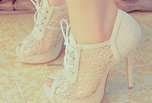 Shoes, shoes, shoes / by Beth Cordeiro
