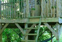 Treehouse/playhouse ideas for Liz