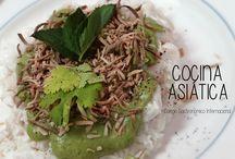 COCINA ASIÁTICA CGI / Diversos platillos de la cocina asiática hechos por nuestros alumnos del Colegio Gastronómico Internacional