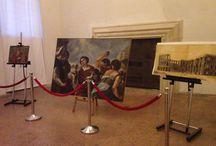 Notte dei Musei 2015 / #NottedeiMusei #NDM2015 a #Palazzo Chiericati  Anche #Vicenza ha partecipato: #aiutiamolacultura donando un'offerta a partire da 1€ per il restauro di alcune opere esposte per l'occasione nella Sala del Firmamento.  Un sentito #GRAZIE ai 339 visitatori che hanno donato più di 800€! #museumviews #1europerlacultura #MuseiVicenza #art #museum #restauro #culture #arte #musei