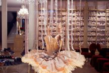 Ballet costume / Ballet tutu display