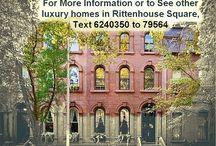 Rittenhouse Square Real Estate PA / by Florida Mobile Fusion