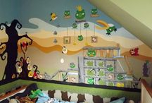 Murals for Boys / Boys have such a wide range of interests and hobbies, I am never stuck for ideas.Personal details are important to boys, connecting them to their surroundings.