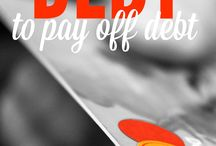 Debt / Debt, loans, student loans, credit card, credit card debt, tips for paying down debt, pay off debt