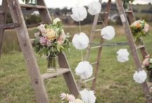 Inspiring Wedding Day Props / Gathering ideas for using props for weddings at Longford Barn.