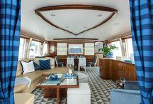 Modern Yacht- S.B. Long Interiors