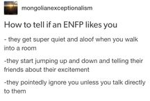 Being an ENFP-T