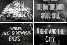 Movie Title Lettering / by Kenneth Hylbak