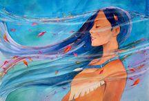 Pocahontas / by Rachel Baylis