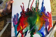 Melted Crayons and Stuff / by Heather Weaver