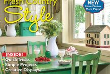 Home Tours 2015 / Now in a larger format with more pages and more photos, Home Tour 2015 has all the inspiration you need to decorate all year long! / by Country Sampler Magazine