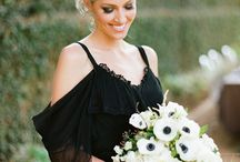 Wedding trends ~ noir