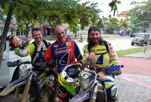 Italy enduro team Indoneaia
