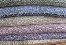 fabric woven throw