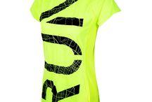 Lauf- Fitnesshirts mit Prints