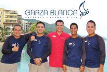 Garza Blanca's Staff