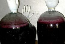 Напитки нашивки вино