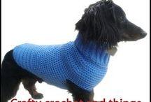 Daschund sweaters