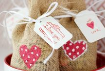 Gift bags / Hessian love