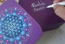 Mandalas dotpainting / Puntos y más puntos,colores y más colores