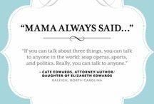 mother said