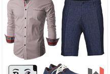 pantalon scurt elegant