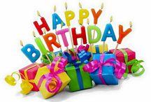 Birthday wishes / #Birthday #Wishes #Messages #Greetings #Quotes #Phrases #Memes #Sayings #Verjaardag #Verjari