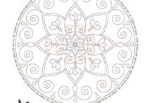 Jewish Printable Coloring Pages / Jewish Faith Collection ♥ Girls Printable Coloring pages with Mandalas, Star Of David, Menorah, and Hebrew Blessings & Prayers. Pure Healing Art from the Land of Israel ✡ INSTANT DOWNLOAD!!!