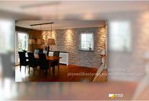 MSD-Steinpaneele - Wohndesign / Kunststeinpaneele verleihen Ihrer Wohnung ein ganz besonderes Ambiente