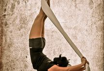 Aerial Silk Choreography to Jewelry / Pins of aerial silk poses.