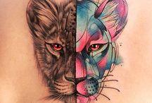 Dieren tattoos