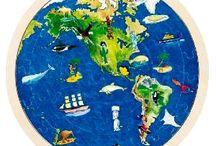 Jeux du monde / Des jouets et des jeux de société du monde entier ou pour découvrir le monde, ses cultures, ses habitants.