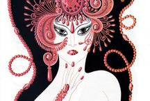 Erte original prints