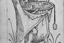 Engraving drawing