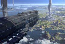 Enviroments: Skies