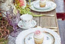 high tea tables