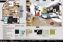 interior boards / Interior design presentation and tips