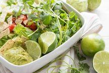 Veggies salad & vegan