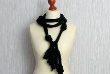 necklace textil a ine / by lubica talarovicova