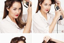 "Vintage Hair / Vintage inspired hairstyles to get you from a ""bad hair day"" to ""hair-raisingly fabulous"""
