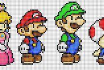 Super Mario, Luigi Toad