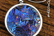 bizmuth crystals