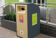 Talking Bins / Solar powered, talking bins!