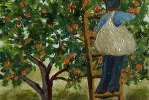 Orange Grove/Fruit Orchard Art