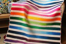 quilts stripes circles squares