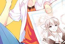 Anime artist boy