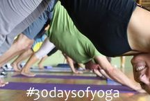 30 Days of Yoga / Let's support & encourage one another on the yoga journey for 30 days. Let's see what happens when we harness the Power of Focus in our lives and see what amazing changes occur! Please repin and share with the hashtag #30daysofyoga - this is a group board so let me know you want to participate and I'll add you so you can pin!  email: 4theloveofyogainfo@gmail.com