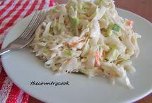 Salad's, Salsa's & Sauces / by Angie Kranz