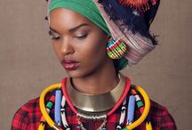 African colours & pattern